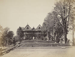 Sir Hugh Rose's Bungalow, Maharao, near Simla, Oaks.